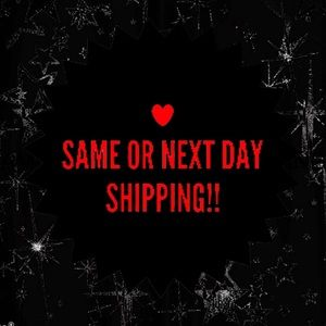 SAME DAY OR NEXT DAY SHIPPING ALWAYS